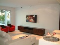 TV setup with Bose lifestyle surround system Sovereign Island