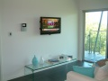 Wall mount TV with C-Bus and intercom Gold Coast