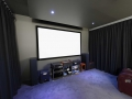 Home Cinema projector screen installation Hope Island