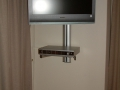 TV wall mount with equipment shelf Gold Coast